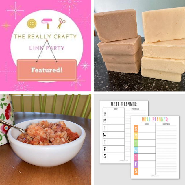 The Really Crafty Link Party #229 featured posts