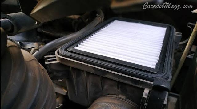 Filter udara pada mobil avanza