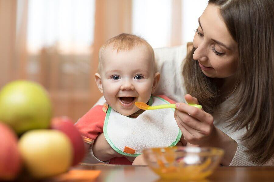 Embalagens para introdução alimentar e amamentação