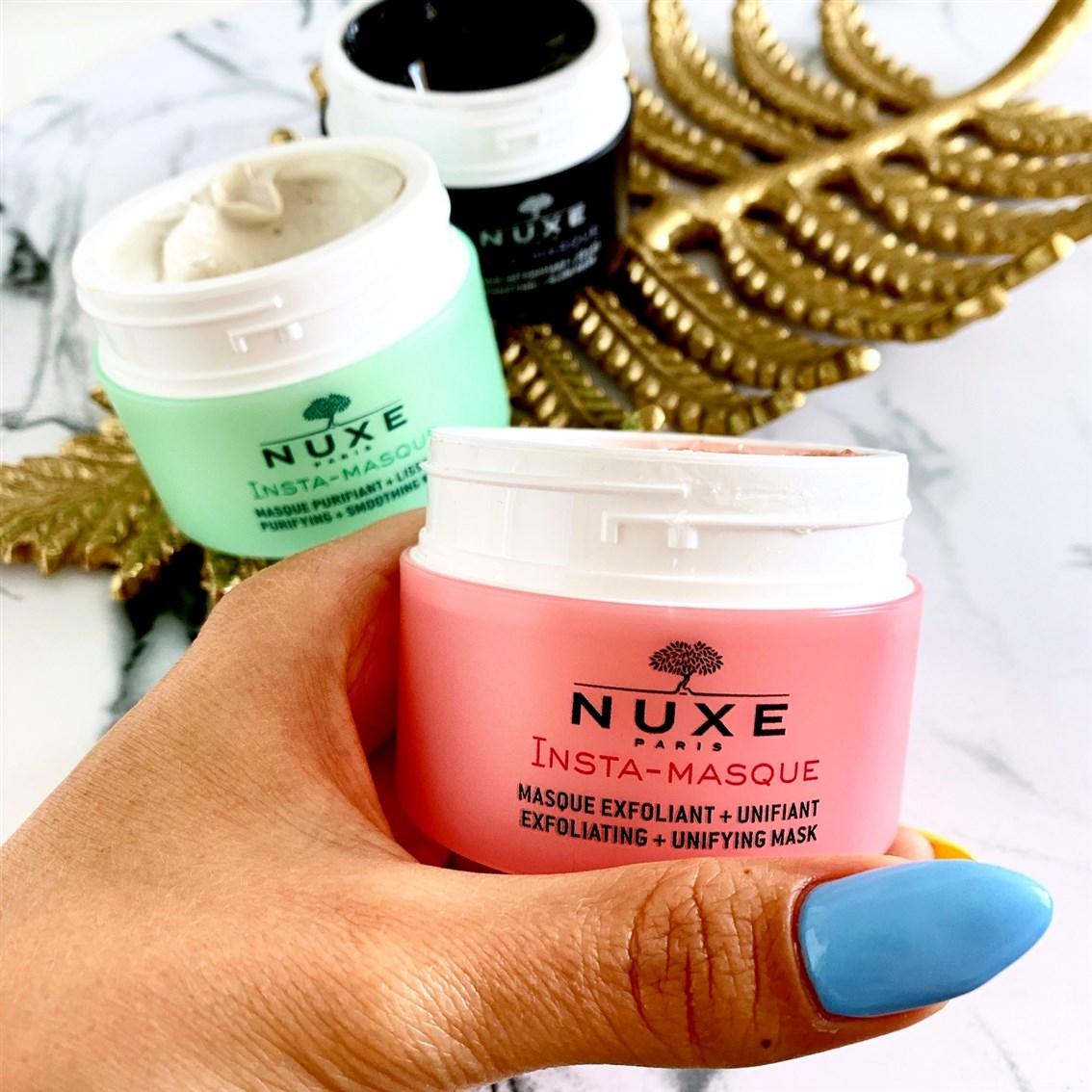 Nuxe Insta-Masque Złuszczająca maska ujednolicająca