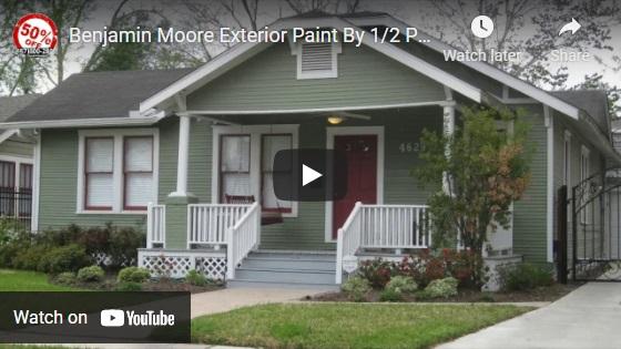 Benjamin Moore Exterior Paint