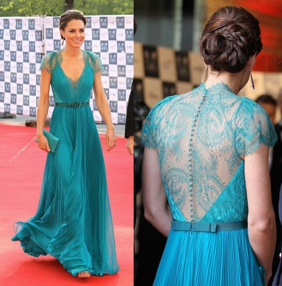 ScarletStiletto: Kate Middleton In Jenny Packham