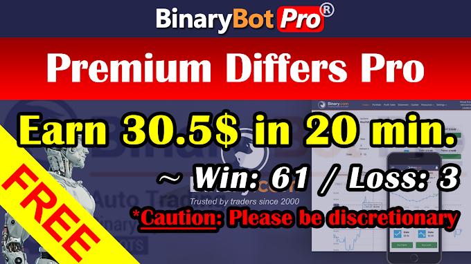 Premium Differs Pro | Binary Bot | Free Download
