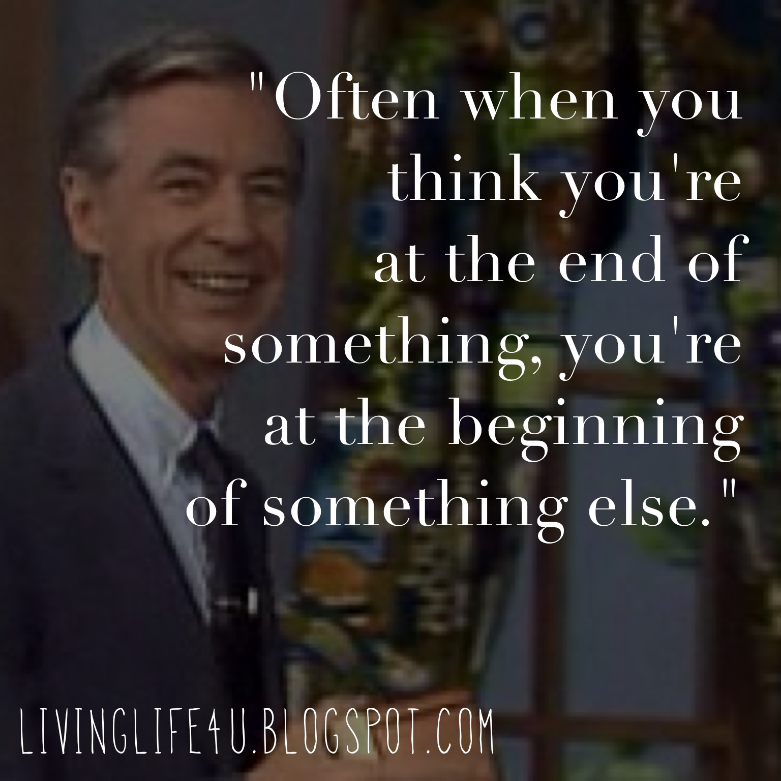 Things Fall Apart Chapter 10 Quotes: Live YOUR Life!: The Magic Of Mister Rogers: Day 1