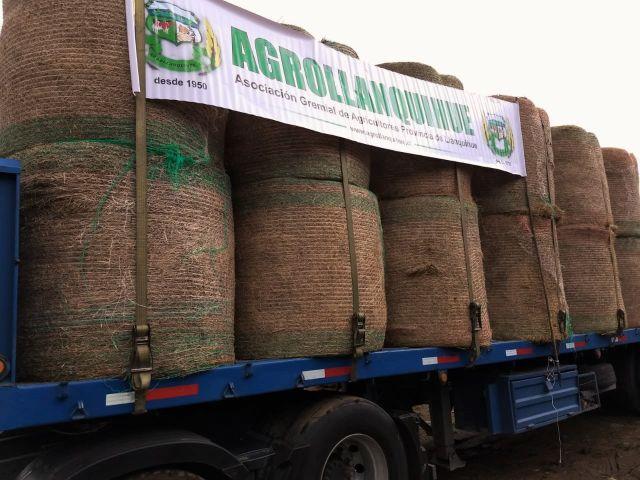 Agrollanquihue concreta donación a productores afectados por la sequía