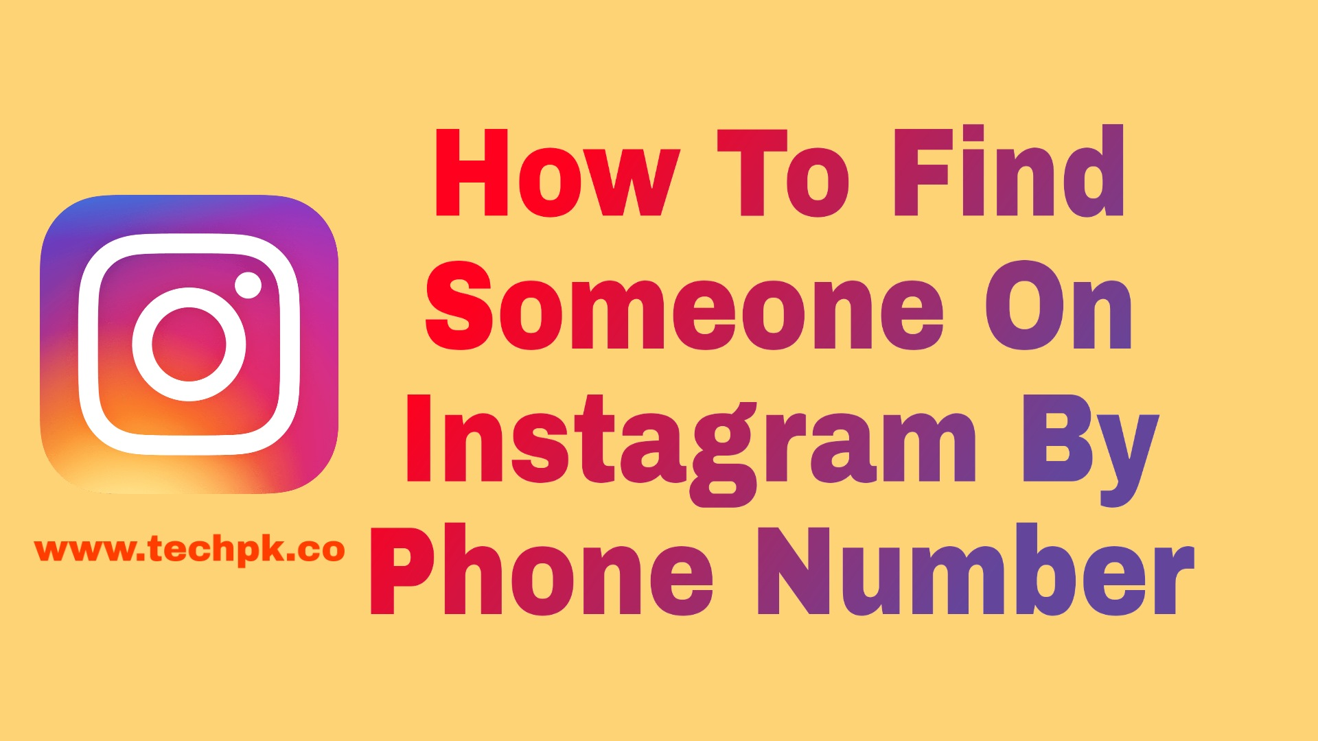 How to find someone on Instagram by phone number 2021
