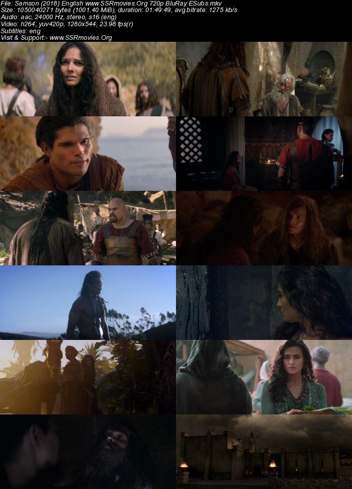 Samson (2018) English 720p BluRay 1GB