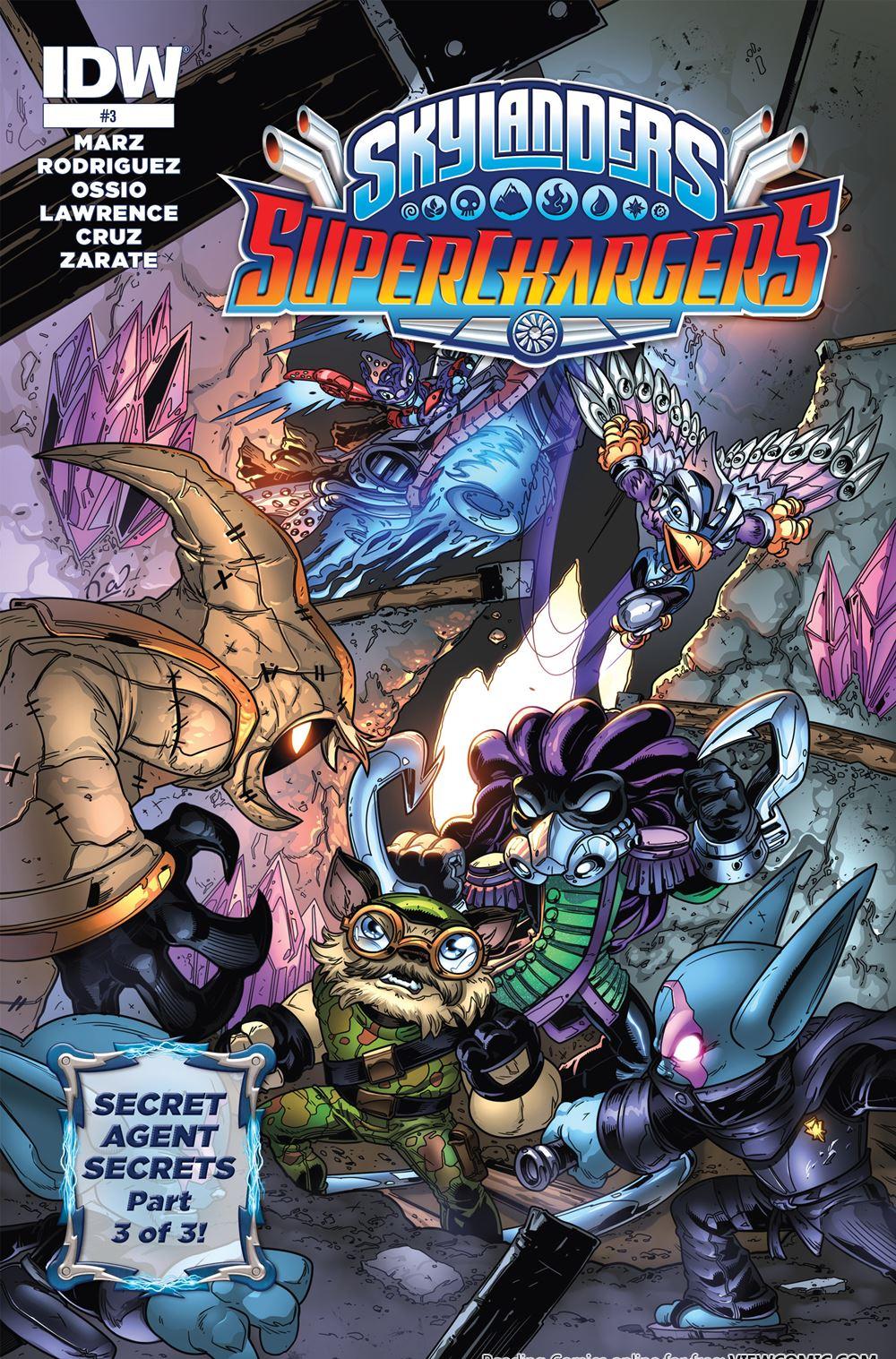 Skylanders – Superchargers | Viewcomic reading comics online