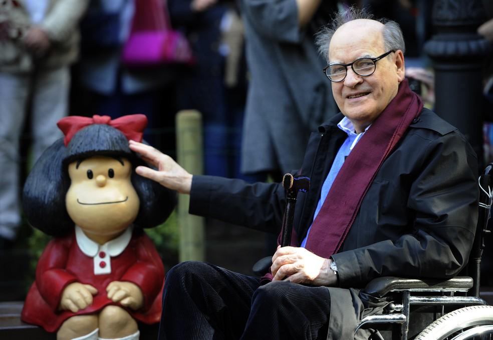 Morre aos 88 anos o criador da personagem Mafalda