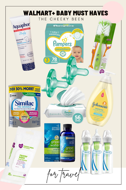 Walmart+ Must Have Baby Items For Travel