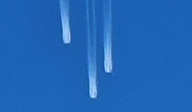 Ovnis cayendo en Denver, Colorado, EE. UU., 31/1/2021
