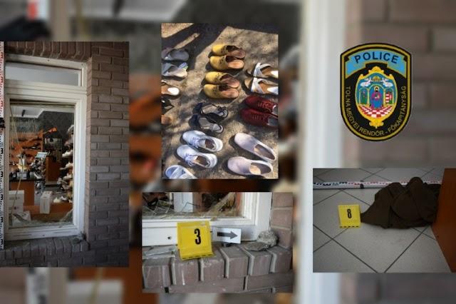 Kirakatot tört új cipőért, a paksi rendőrök elfogták
