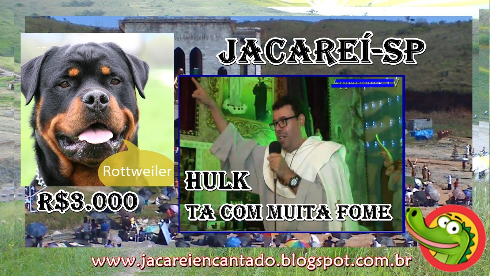 www.jacareiencantado. blog oficial .vidente, sinal, photoshop Santuário das Aparições de Jacareí SP. são falsas. são verdadeiras, farsa,