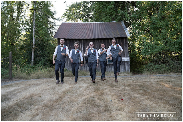 Groomsmen at Pomeroy Farm