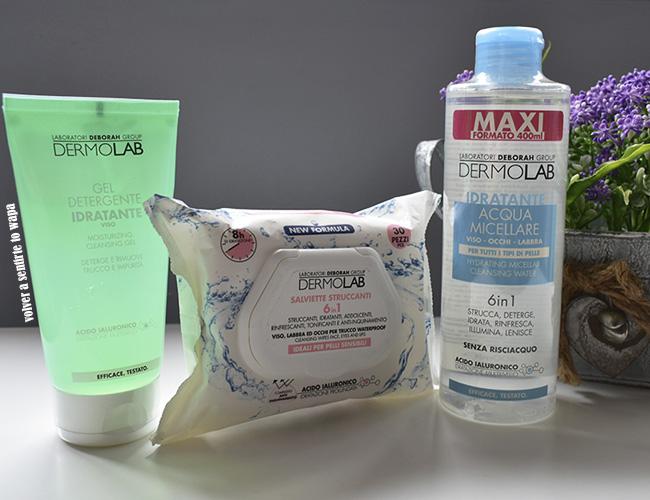 Línea Hidratante de cuidado facial de Dermolab