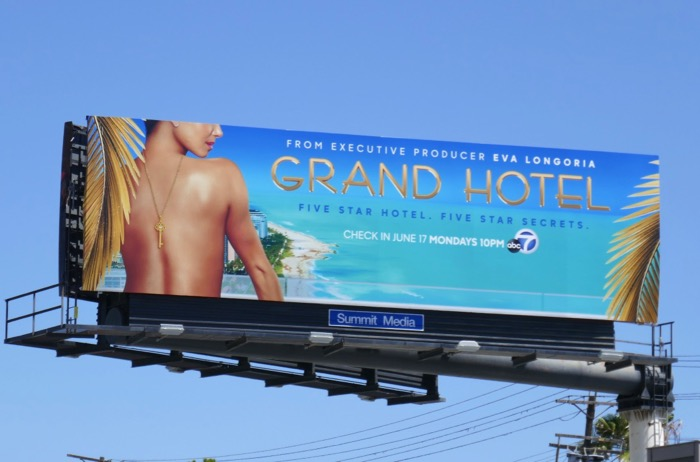 Grand Hotel series premiere billboard