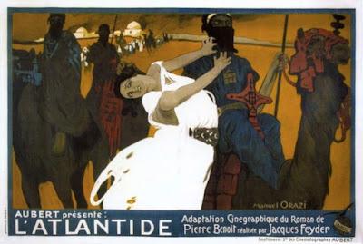 The Queen of Atlantis Poster