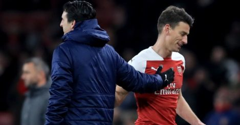 Unai Emery washes his hands of Arsenal rebel Laurent Koscielny