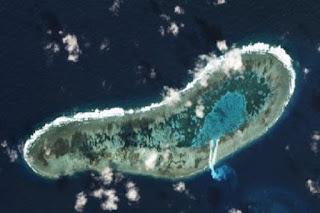Ladd Reef di Kepulauan Spratly