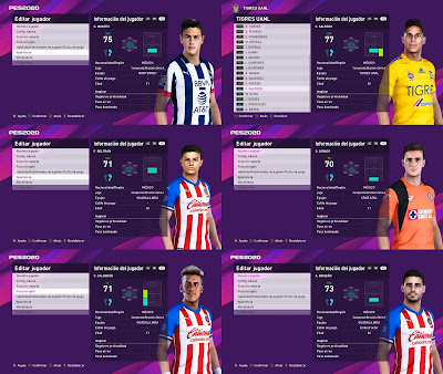 PES 2020 Liga MX Facepack by Mysterion JG