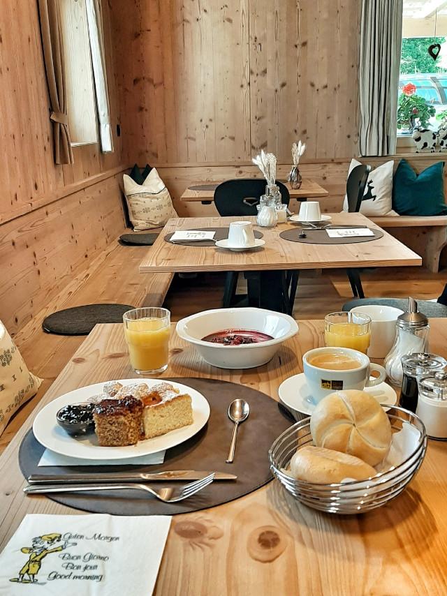 colazione hotel montagna