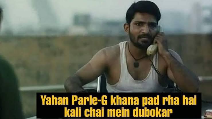 Parle-G khana pad raha hai idhar - Bunty