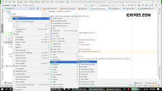 Cara Buat Asset Folder android Studio