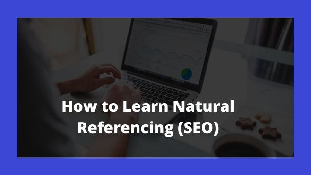 Learn Natural Referencing (SEO)