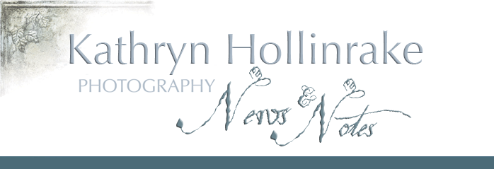 Kathryn Hollinrake Photography News