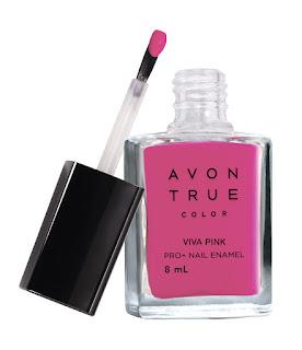 Avon True Color Nail Wear Pro+ Nail Enamel - Viva Pink - MRP 149