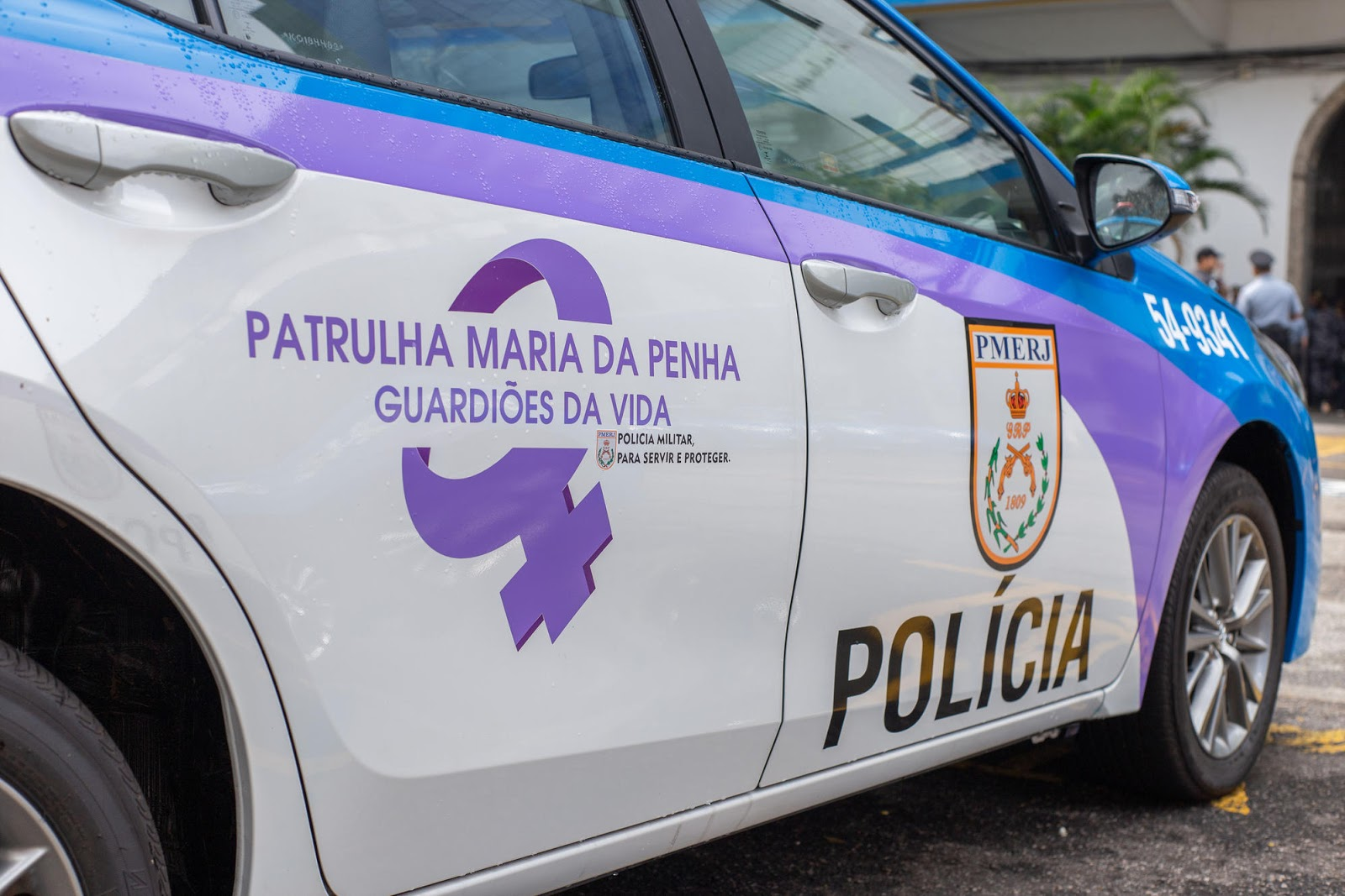 Estão nas ruas do Rio, as patrulhas Maria da Penha