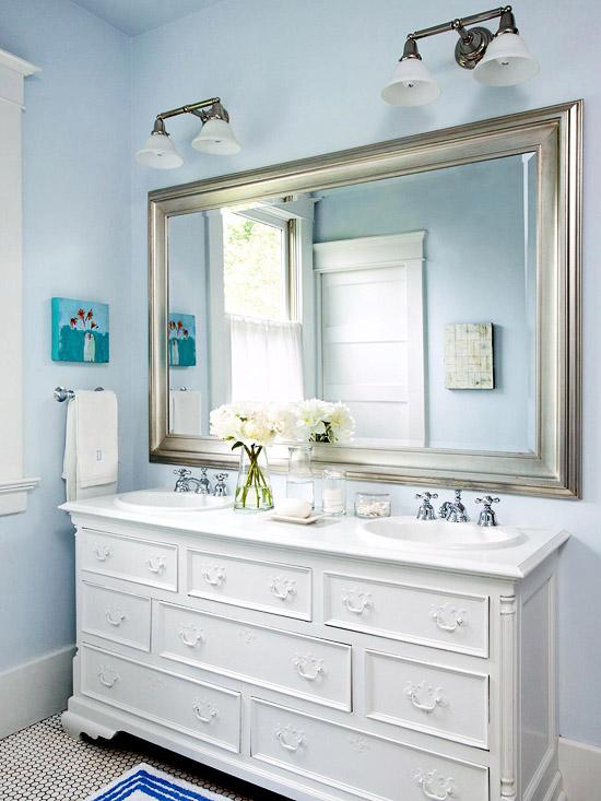 blue bathroom design ideas  home appliance