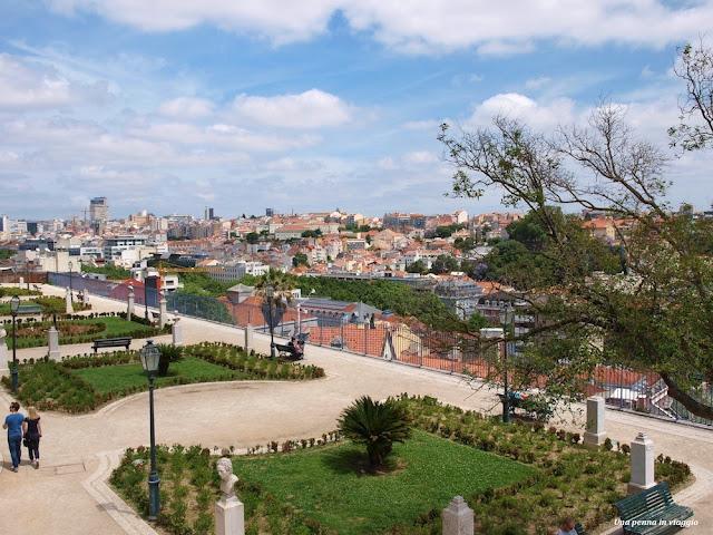 foto Lisboa Miradouro de São Pedro de Alcântara