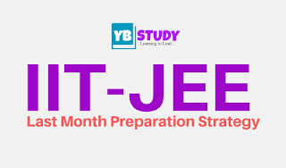 JEE Last month Preparation strategy
