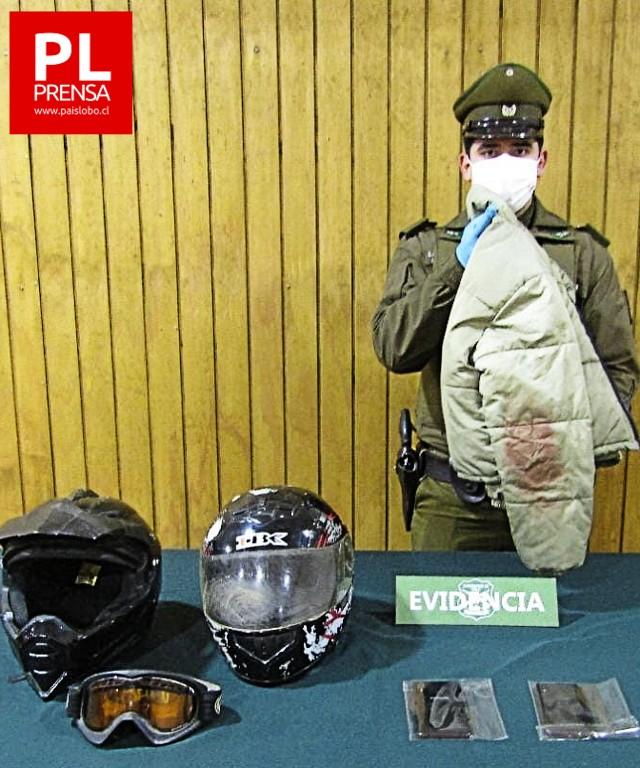 Osorno: allanamientos deja dos detenidos tras agresión a joven