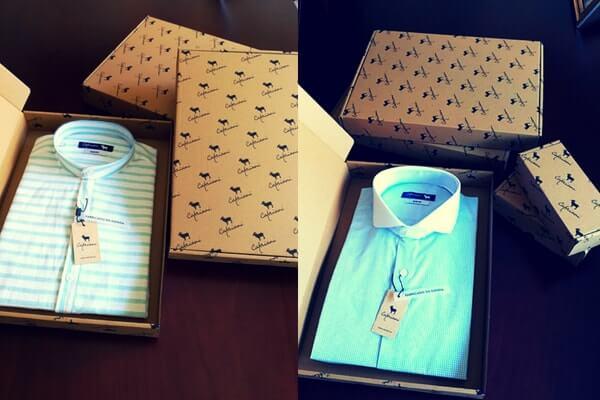 cajas para envios personalizadas para camisas