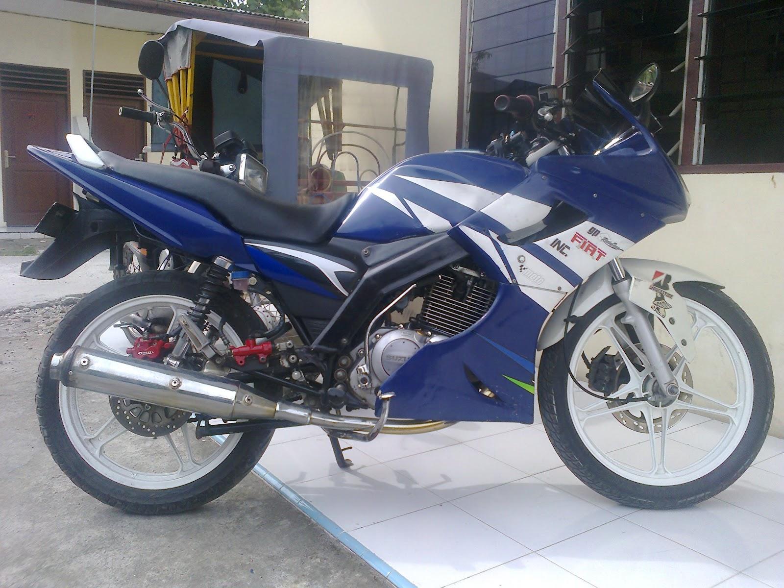 Modifikasi Suzuki Thunder Modifikasi Sederhana