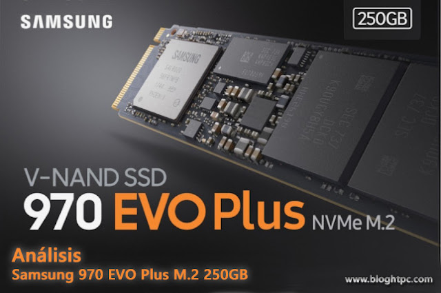 Análisis SSD Samsung 970 EVO Plus