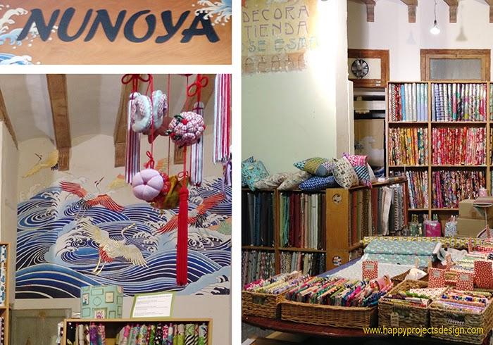 Nunoya: tienda de telas japonesas en Barcelona