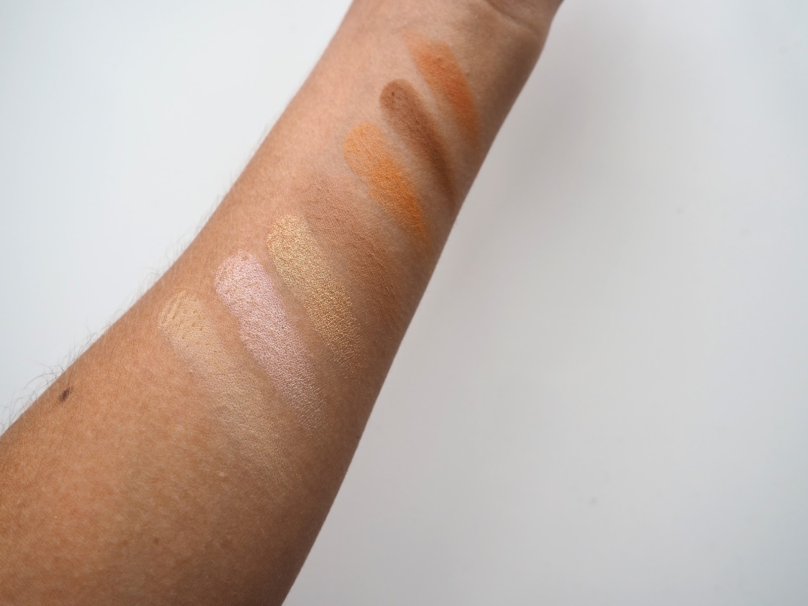 Morphe 35O Eyeshadow Palette Swatches It's Cultured Blog Post