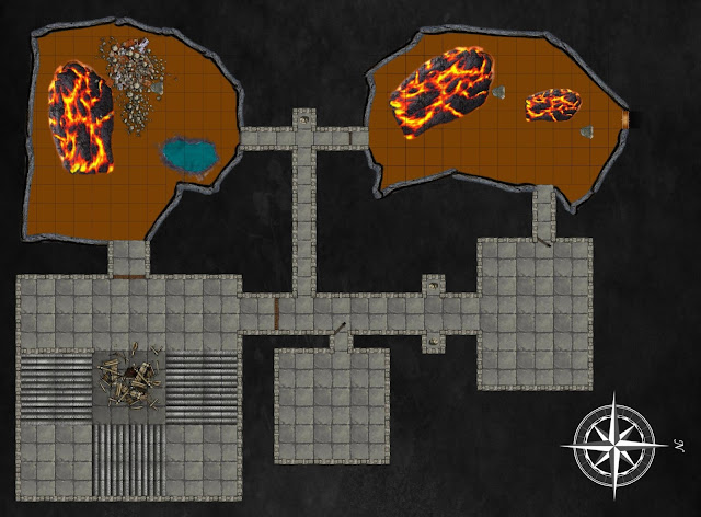 The Kuo-Toa Hatchery Lava Rooms