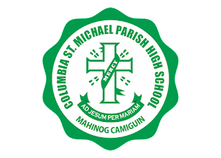 Columbia St. Michael Parish High School (CSMPHS) logo vector