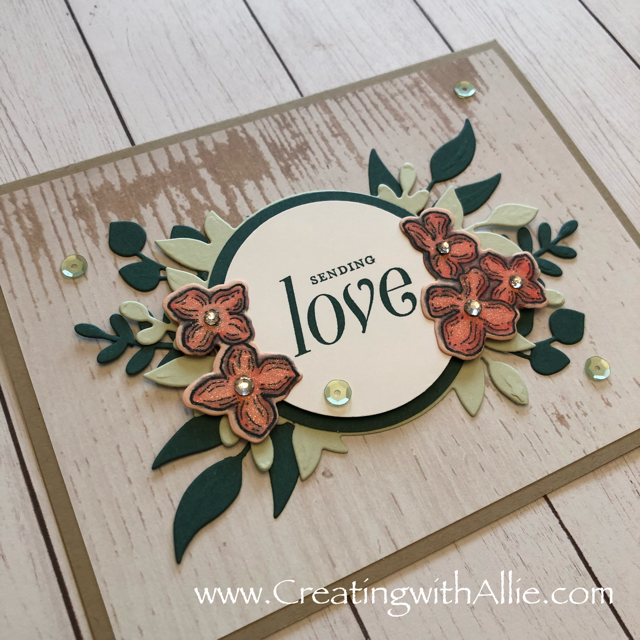 Check out the video tutorial showing you how to make a quick and easy card, where I show you tips and tricks for using Stampin Up's Floral Frames Bundlel!  You'll love how quick and easy this is to make!  www.creatingwithallie.com #stampinup #alejandragomez #creatingwithallie #videotutorial #cardmaking #papercrafts #handmadegreetingcards #fun #creativity #makeacard #sendacard #stampingisfun #sharewhatyoulove #handmadecards #friendshipcards