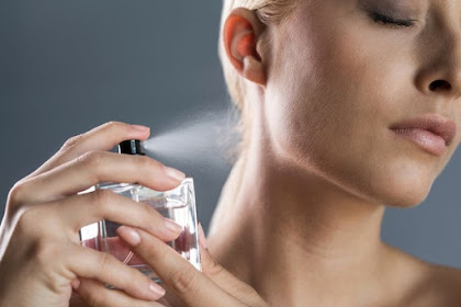 Titik Semprot di Tubuh yang Buat Parfum Tetap Wangi