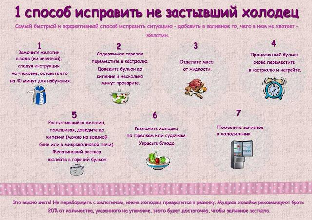Разложите холодец по тарелкам и поместите в холодильник