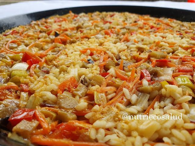 arroz con verduritas