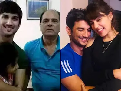 Sushant Singh Rajput's Father Files Case Against Actor Rhea Chakraborty