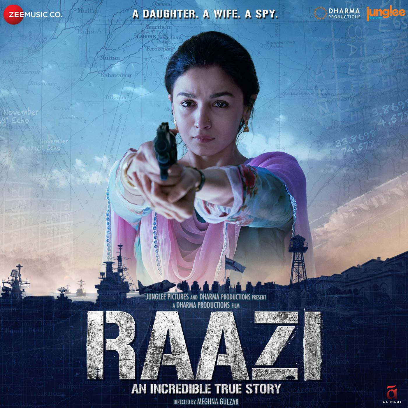 I Am A Rider Song Download Mp3: Music Riders Bollywood: Raazi (2018) Hindi Mp3 [320 Kbps]