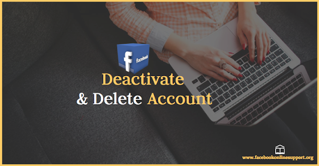 Deactivate And Delete Facebook Account