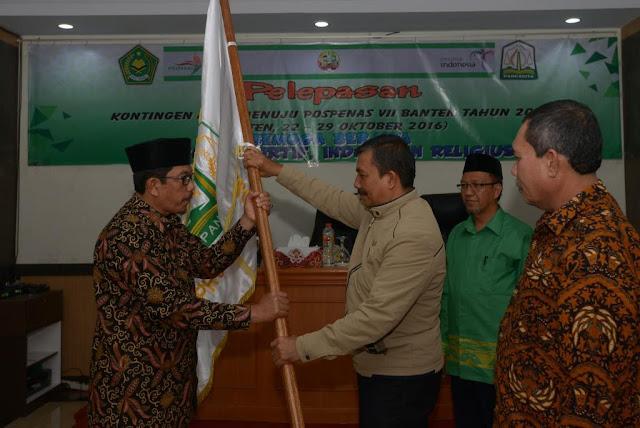 38 Santri Wakili Aceh di Pospenas VII Banten